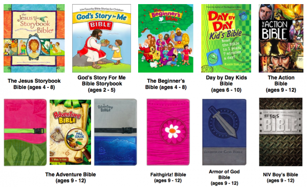 Bible Suggestions